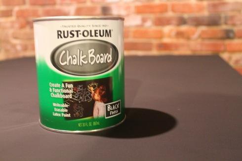 DIY chalkboardpinat