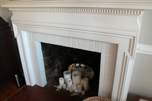 DIY fireplacebefore
